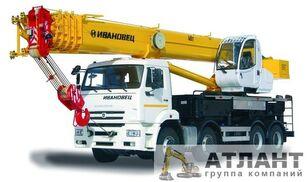 нови автодигалка KAMAZ Ивановец КС-65740-8 40 тонн