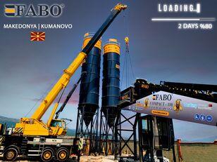 нови фабрика за бетон FABO MIX COMPACT-110 CONCRETE PLANT | CONVEYOR TYPE