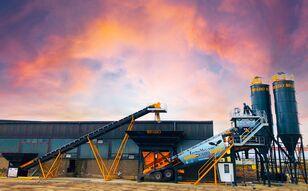 нови фабрика за бетон FABO TURBOMIX-100 Cерия Mобильных бетонных установок