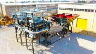 нови фабрика за бетон FABO TURBOMIX-120 MOBILE CONCRETE PLANT READY IN STOCK