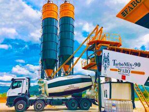 нови фабрика за бетон FABO TURBOMIX-90 MOBILE CONCRETE PLANT HIGH QUALITY 90 M3/H