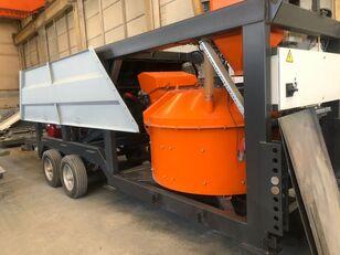 нови фабрика за бетон Plusmix MT30 : 30 m³/ hour MINI MOBILE Concrete Plant