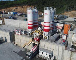 нови фабрика за бетон SEMIX LES CENTRALES À BÉTON FIXES Stationnaire 200