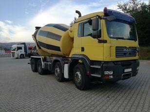 камион-мешалка Stetter  на шасија MAN TGA 32.400 8X4  Schwing 9M3
