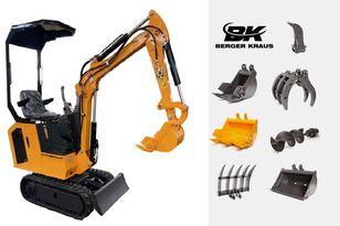 нови мини багер BERGER KRAUS Mini Excavator BK800BS torsion arm with FULL equipment