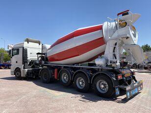 нови полуприколка мешалка за бетон ALIM mixer semi trailer concrete mixer semi-trailer