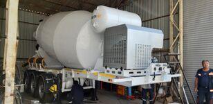 нови полуприколка мешалка за бетон EXPOTRAILER 12 M3