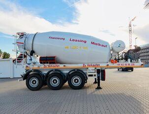 полуприколка мешалка за бетон SCHWARZMÜLLER TTC-Fulda Betonmischer Auflieger mit Motor  NEU